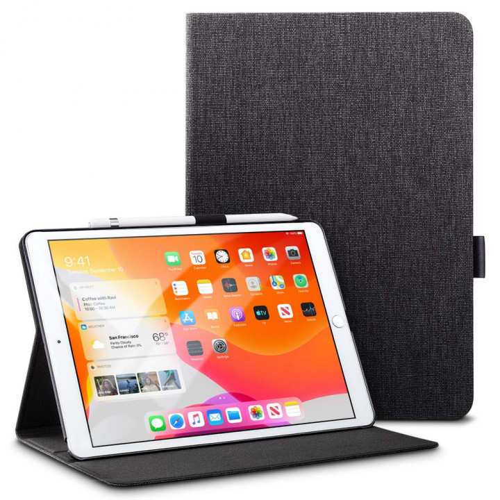 """Чехол ESR Urban Premium Folio для Apple iPad 7 10.2"""" (2019) Charcoal"""