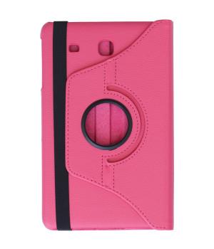 Поворотный чехол Galeo для Samsung Galaxy Tab E 9.6 SM-T560, SM-T561 Hotpink