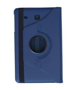 Поворотный чехол Galeo для Samsung Galaxy Tab E 9.6 SM-T560, SM-T561 Navy Blue