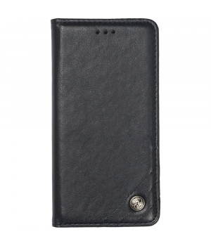 Чехол-книжка Galeo Leather Wallet для Xiaomi Redmi Note 8 Black