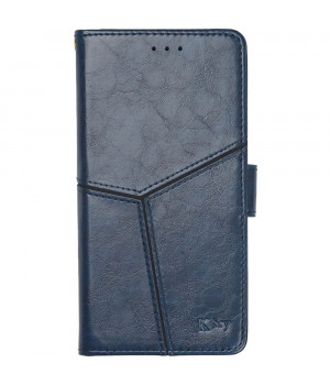 Чехол-книжка K'try Premium Folio для Xiaomi Redmi Note 8 Dark Blue