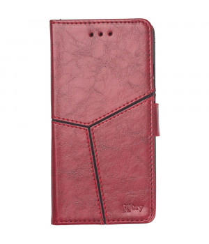 Чехол-книжка K'try Premium Folio для Xiaomi Redmi Note 8 Red