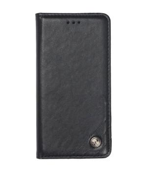 Чехол-книжка Galeo Leather Wallet для Xiaomi Redmi Note 8 Pro Black