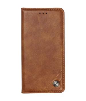 Чехол-книжка Galeo Leather Wallet для Xiaomi Redmi Note 8 Pro Brown