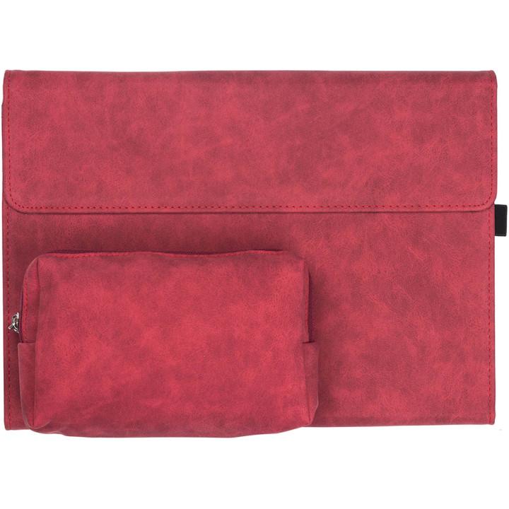 Чехол Galeo Premium Portfolio для Microsoft Surface Pro 4/5/6/7 + Power Pack Red
