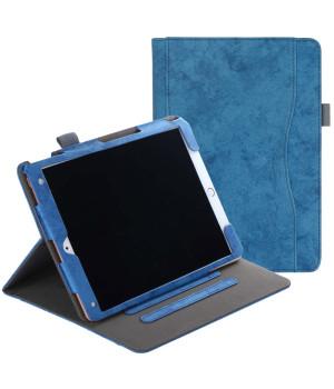 Чехол Galeo Vintage Canvas Folio для Apple iPad 7 10.2 / Air 3 10.5 / Pro 10.5 Blue