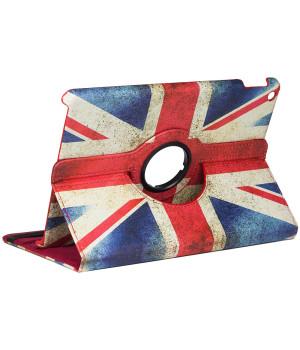"Поворотный чехол Galeo Print для Apple iPad 7/8/9 10.2"" (2019/2020/2021) UK Flag"