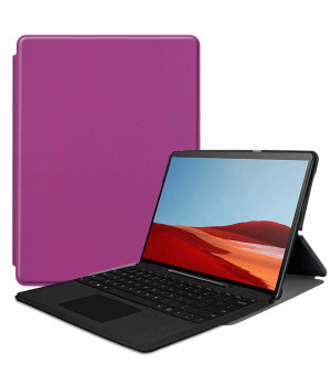 Чехол Galeo Slimline для Microsoft Surface Pro X Purple