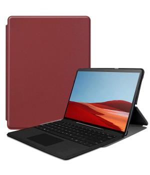 Чехол Galeo Slimline для Microsoft Surface Pro X Wine Red