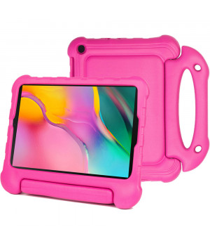 Детский чехол Laudtec EVA для Samsung Galaxy Tab A 10.1 (2019) SM-T510, SM-T515 Hotpink