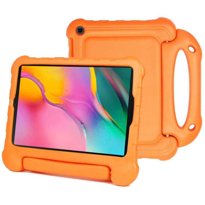 Детский чехол Laudtec EVA для Samsung Galaxy Tab A 10.1 (2019) SM-T510, SM-T515 Orange