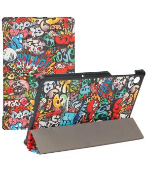 Чехол Galeo Slimline Print для Lenovo Tab M10 Plus TB-X606F, TB-X606X Graffiti