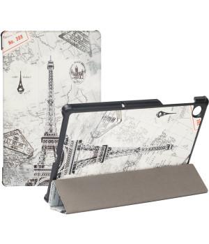 Чехол Galeo Slimline Print для Lenovo Tab M10 Plus TB-X606F, TB-X606X Paris