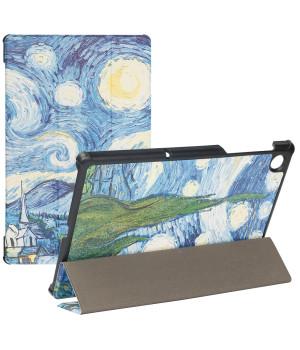 Чехол Galeo Slimline Print для Lenovo Tab M10 Plus TB-X606F, TB-X606X Van Gogh