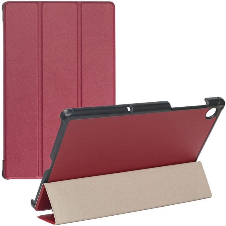Чехол Galeo Slimline Portfolio для Lenovo Tab M10 Plus TB-X606F, TB-X606X Wine Red
