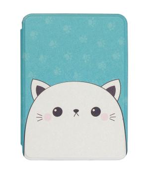 Чехол Galeo TPU Print для Amazon Kindle All-New 10th Gen. (2019) Cute Cat
