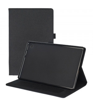 Чехол Galeo Fashion TPU Folio для Lenovo Tab M10 Plus TB-X606F Black