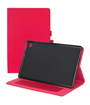 Чехол Galeo Fashion TPU Folio для Lenovo Tab M10 Plus TB-X606F Red