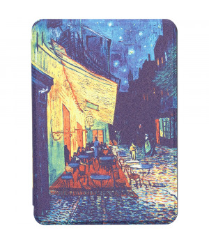 Чехол Galeo Slimline Print для Amazon Kindle All-New 10th Gen. (2019) Cafe Terrace at Night