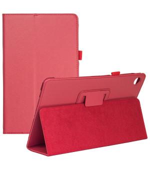 Чехол Classic Folio для Lenovo Tab M10 Plus TB-X606 Red