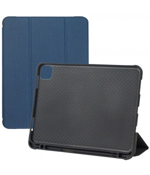 Чехол DUX DUCIS Domo with Stylus Holder для Apple iPad Pro 11 (2020) Dark Blue