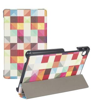 Чехол Galeo Slimline Print для Huawei Matepad T8 (KOBE2-W09A, KOBE2-L09A) Colour Blocks