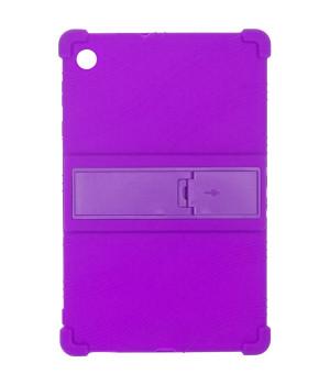 Силиконовый чехол для Lenovo Tab M10 Plus TB-X606 Purple