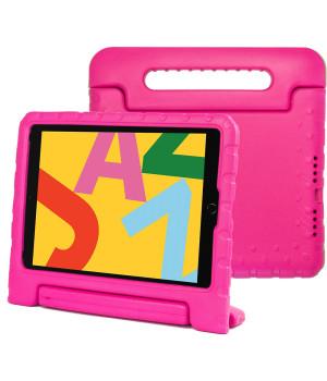 Детский противоударный чехол Galeo EVA для Apple iPad 7/8 10.2 (2019/2020), iPad Air 3 10.5, iPad Pro 10.5 Hotpink