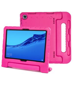 Детский противоударный чехол Galeo EVA для Huawei Mediapad M5 Lite 10 (BAH2-L09, BAH2-W09) Pink