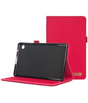 Чехол Galeo Fashion TPU Folio для Huawei Matepad T8 (KOBE2-W09A, KOBE2-L09A) Red