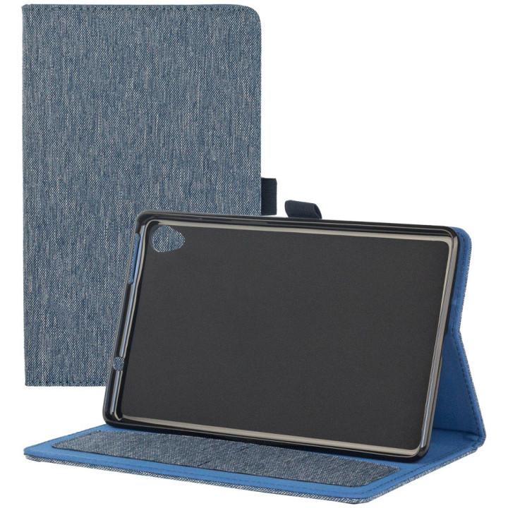 Чехол Galeo Fashion TPU Folio для Lenovo Tab M8 FHD TB-8705F, TB-8705X Blue