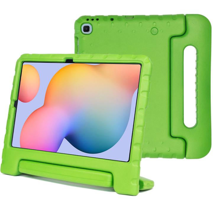 Детский противоударный чехол Galeo EVA для Samsung Galaxy Tab S6 Lite SM-P610, SM-P615 Green