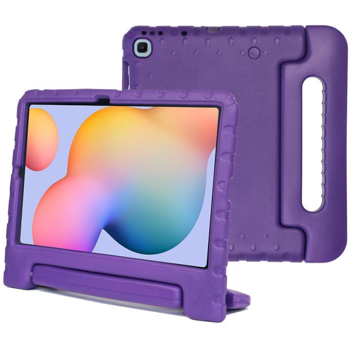 Детский противоударный чехол Galeo EVA для Samsung Galaxy Tab S6 Lite SM-P610, SM-P615 Purple