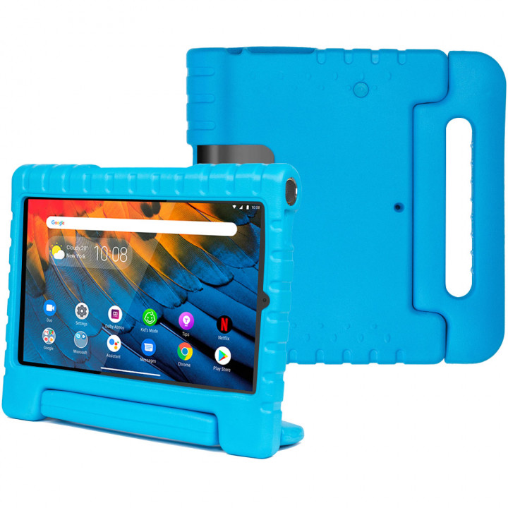 Детский противоударный чехол Galeo EVA для Lenovo Yoga Smart Tab YT-X705 Blue