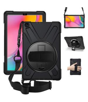 Противоударный чехол Galeo Heavy Duty для Samsung Galaxy Tab A 10.1 (2019) SM-T510, SM-T515 Black