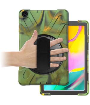 Противоударный чехол Galeo Heavy Duty для Samsung Galaxy Tab A 10.1 (2019) SM-T510, SM-T515 Camo