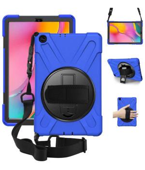 Противоударный чехол Galeo Heavy Duty для Samsung Galaxy Tab A 10.1 (2019) SM-T510, SM-T515 Navy Blue