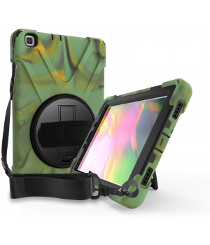 Противоударный чехол Galeo Heavy Duty для Samsung Galaxy Tab A 8.0 (2019) SM-T290, SM-T295 Camouflage