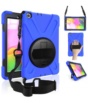 Противоударный чехол Galeo Heavy Duty для Samsung Galaxy Tab A 8.0 (2019) SM-T290, SM-T295 Navy Blue