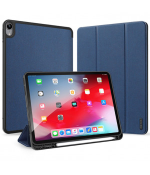 "Чехол DUX DUCIS Domo with Stylus Holder для Apple iPad Air 4 10.9"" (2020) Dark Blue"