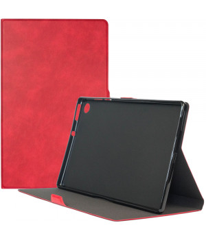 Чехол Galeo Flex TPU Folio для Lenovo Tab M10 Plus TB-X606F, TB-X606X Red
