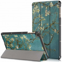 Чехол Galeo Slimline Print для Huawei Matepad T10S / T10 Almond Blossom