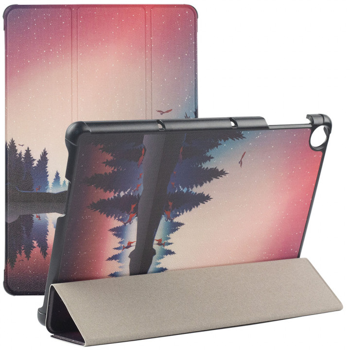 Чехол Galeo Slimline Print для Huawei Matepad T10S / T10 Dusk