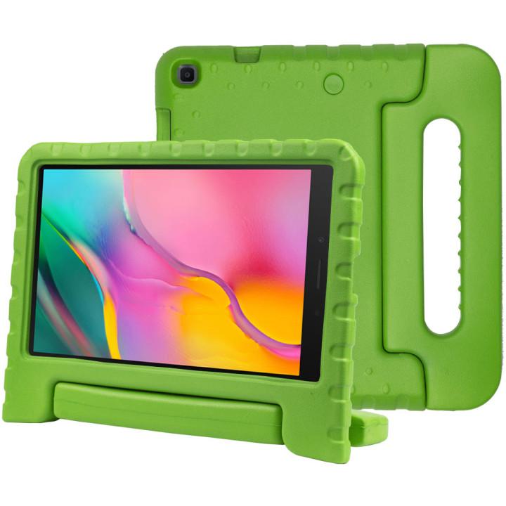 Детский противоударный чехол Galeo EVA для Samsung Galaxy Tab A 8.0 (2019) SM-T290, SM-T295 Green