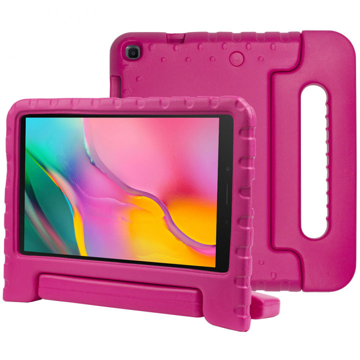 Детский противоударный чехол Galeo EVA для Samsung Galaxy Tab A 8.0 (2019) SM-T290, SM-T295 Hotpink