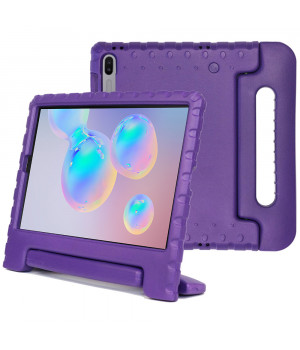 Детский противоударный чехол Galeo EVA для Samsung Galaxy Tab S6 SM-T860, SM-T865 Purple