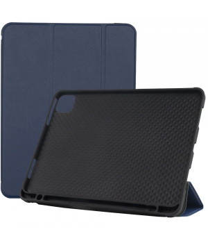 Чехол Galeo Flex with Pencil Holder для Aplle iPad 4 (2020) Navy Blue