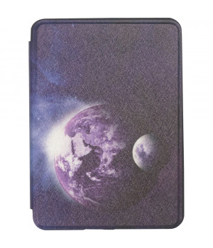 Чехол Galeo TPU Print для Amazon Kindle All-New 10th Gen. (2019) Earth and Moon