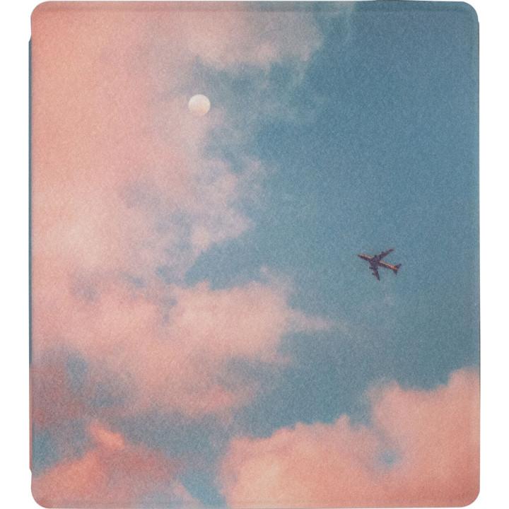 Чехол Galeo TPU Print для Amazon Kindle Oasis 2017 / 2019 Plane
