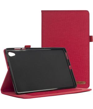Чехол Galeo Fashion TPU Folio для Lenovo Tab M10 HD 2nd Gen TB-X306F, TB-X306X Red